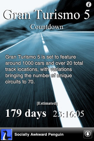 Gran Turismo 5 Countdown and Preview
