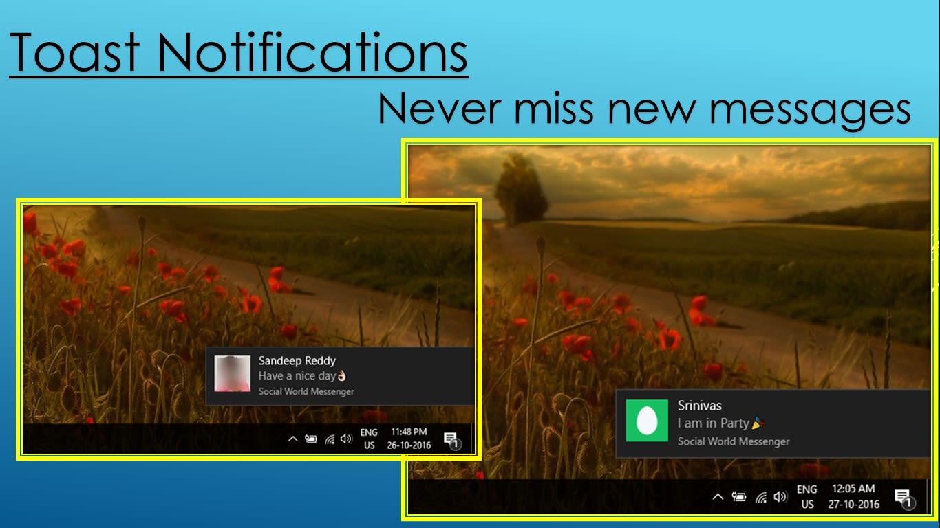 social-communication World Messenger