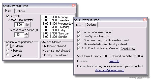 ShutDownOnTime