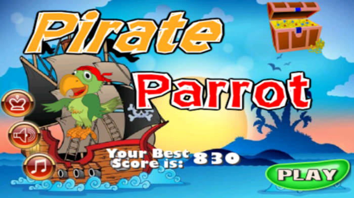 Pirate Parrot. Free Kids Game