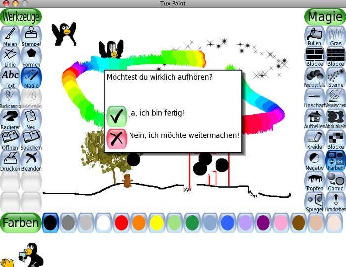 tux paint pour mac télécharger