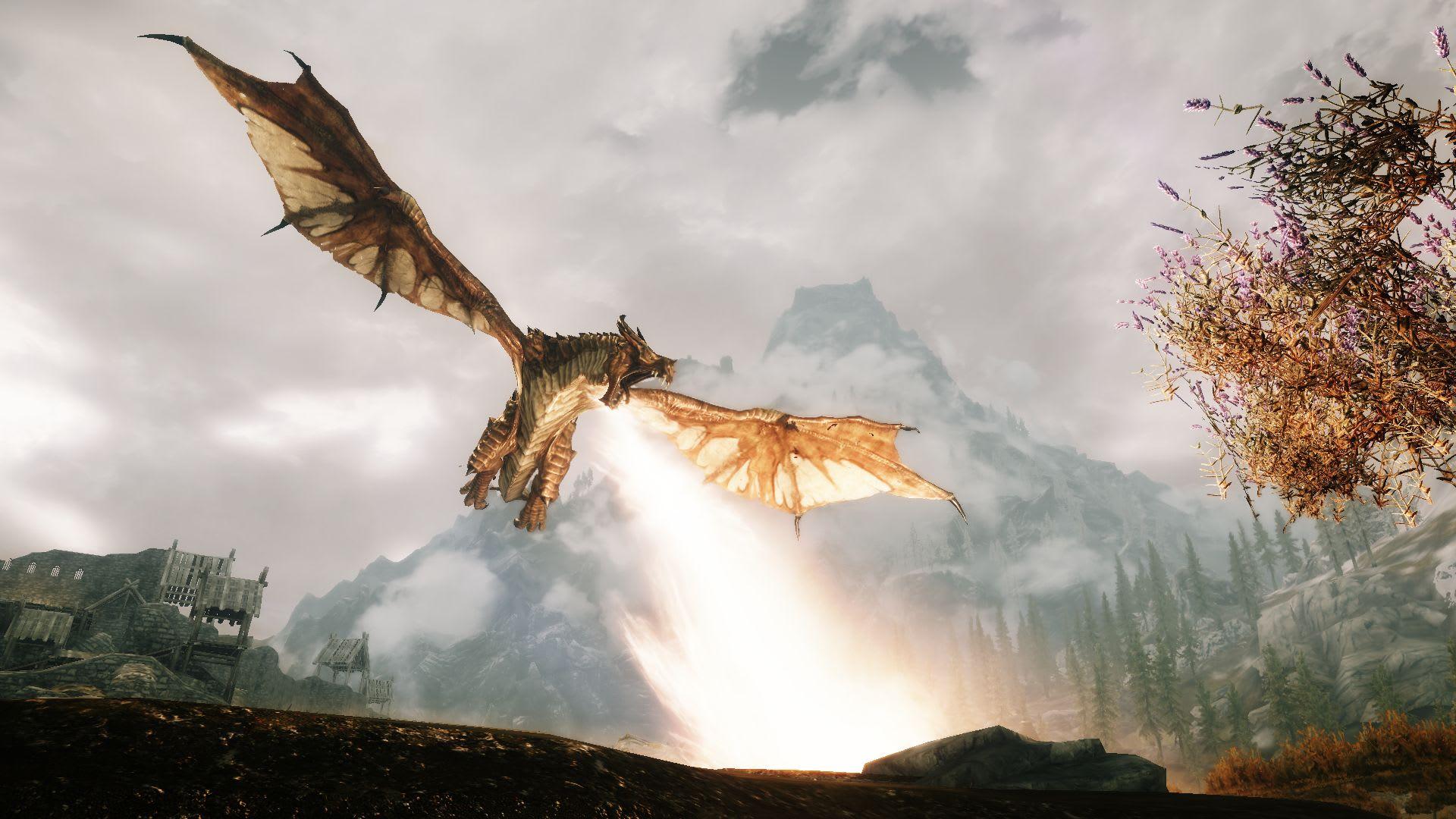 Skyrim Dragon Combat Overhaul Mod