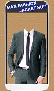 Man Fashion Jacket Suit