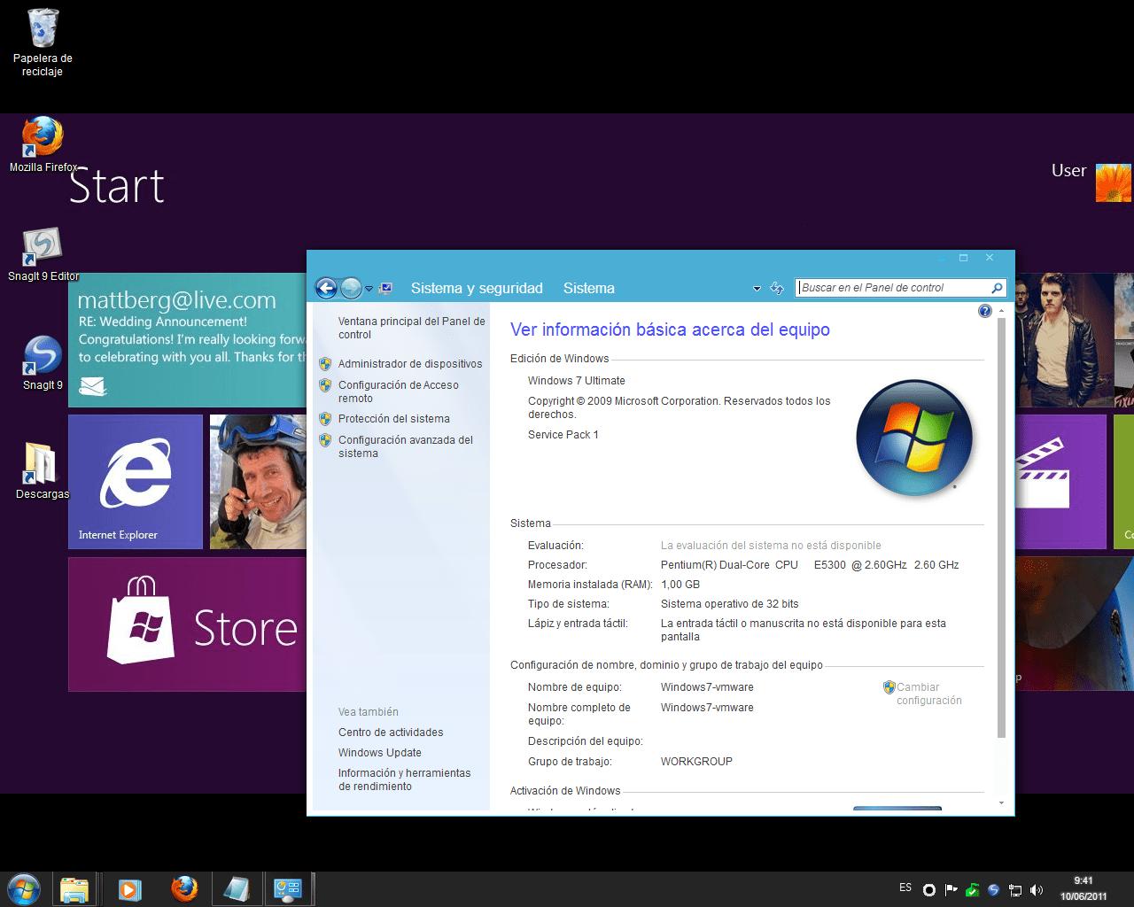 Windows Metro IM