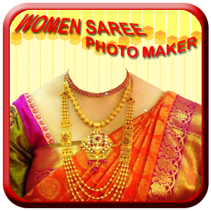 Women Saree Photo Maker