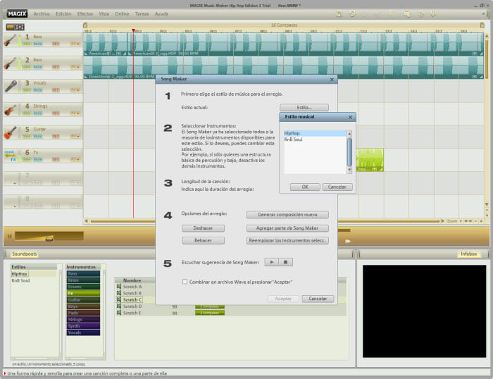 MAGIX Music Maker Hip-Hop Edition