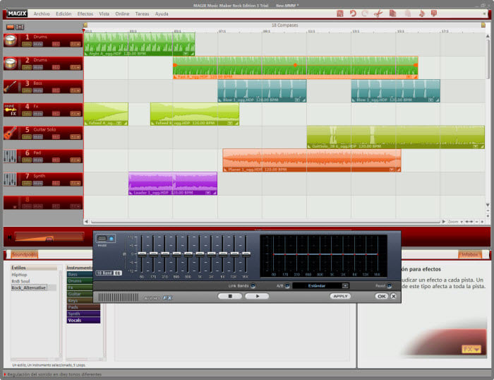 MAGIX Music Maker Rock Edition
