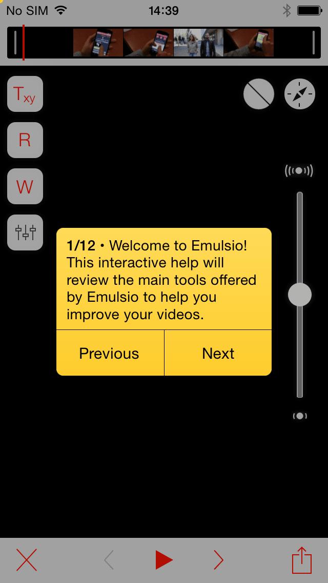 Emulsio - Powerful Video Stabilization