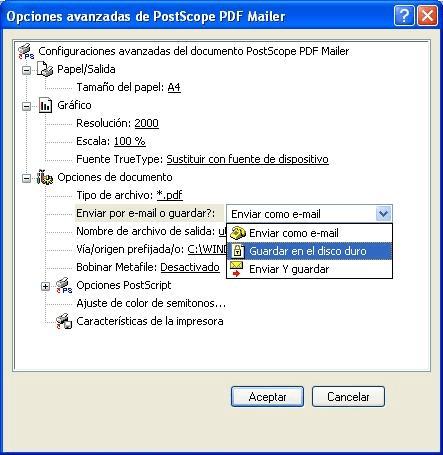 PostScope PDF Dispatch Engine