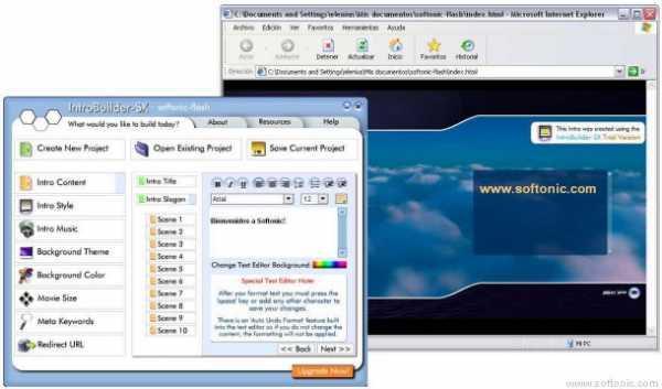 Flash WebDesignHQ IntroBuilder-SX