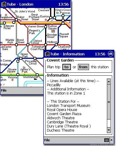 Tube London