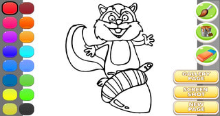 Funny Animals Coloring Pages
