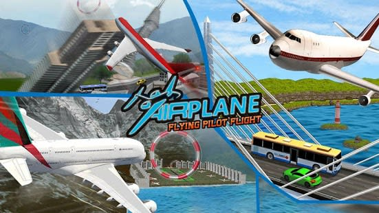 Airplane Flying Pilot Flight Plane Drive 2018