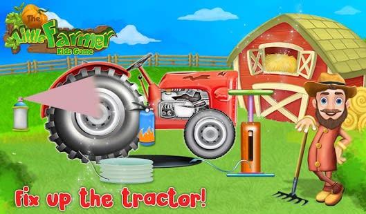 The Little Farmer Kids Game