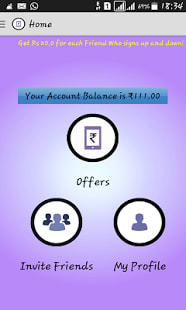 Earn Recharge -Mobile Recharge