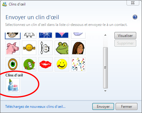 Windows Live Messenger Pack 10ème anniversaire