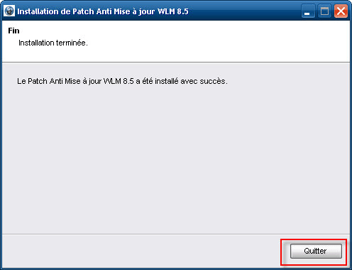 Patch antiaggiornamento per Windows Live Messenger 8.5