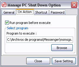 Manage PC Shutdown