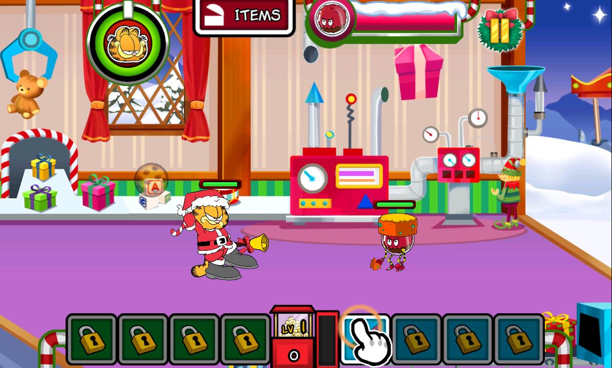 Garfield salva la Navidad para Android  Descargar