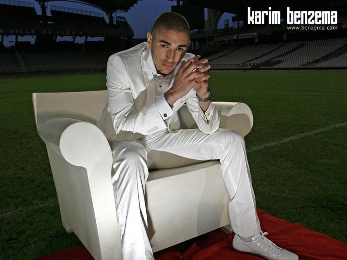 Fond d'écran Karim Benzema 2009