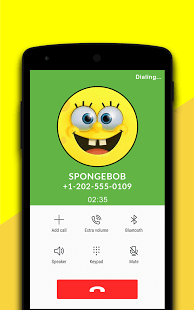 Spongebob Fake Call Simulator
