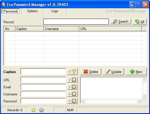 Era Password Manager Portable