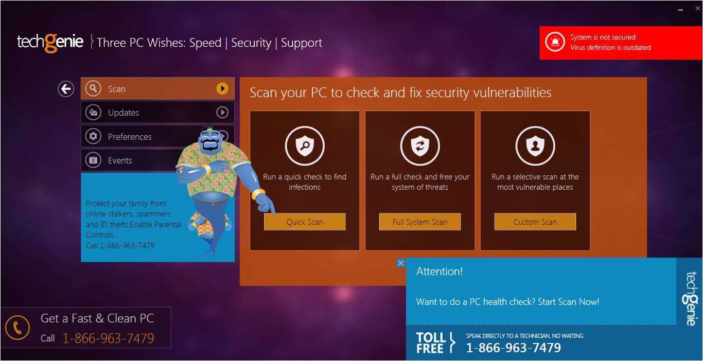 TechGenie Free Antivirus