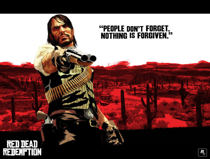 Red Dead Redemption Screensaver