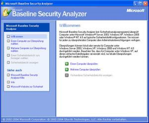 Microsoft Baseline Security Analyzer