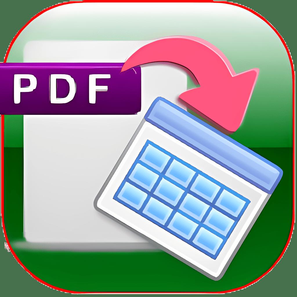 MST PDF To Excel Converter 1.38