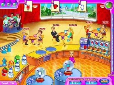 Golden Hearts Juice Bar Game
