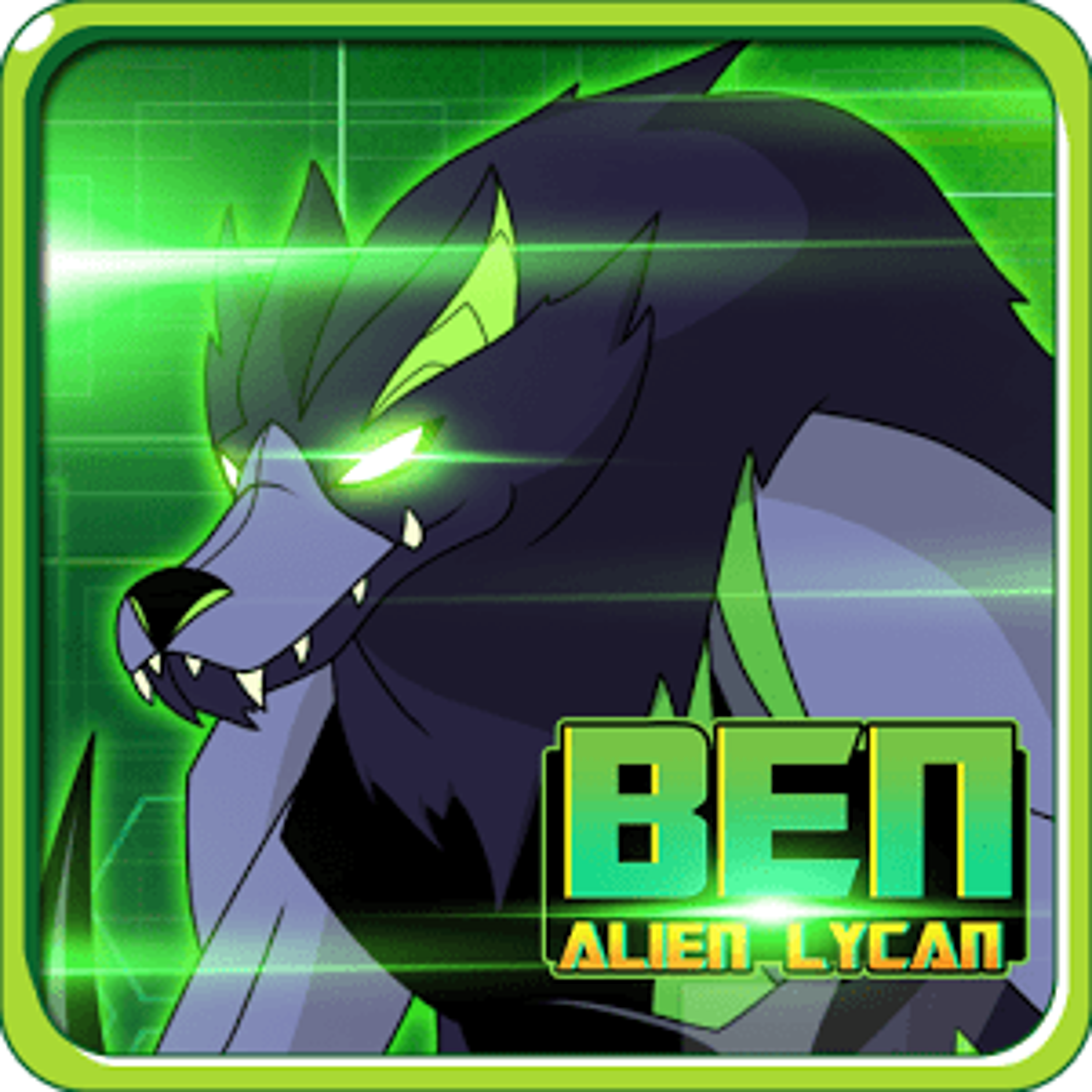Alien Ben Blitzwolfer Lycan 1.0