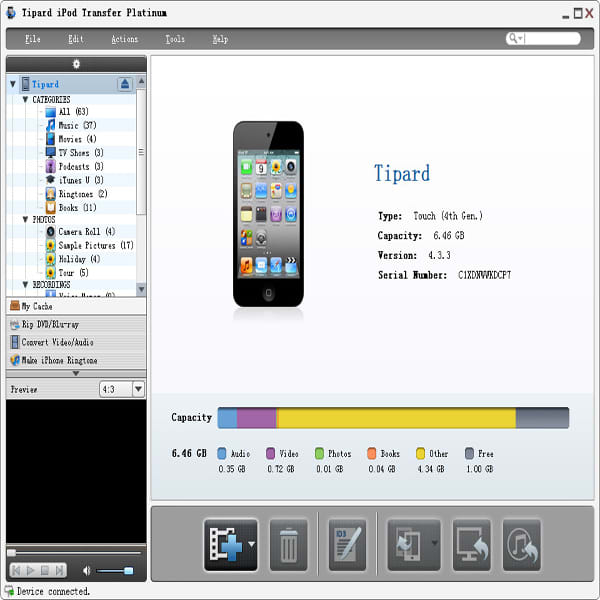 Tipard iPod Transfer Platinum