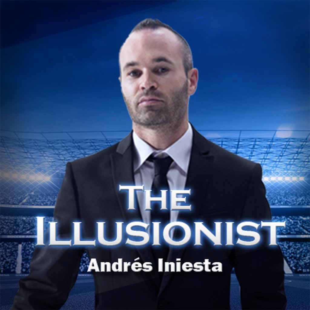 The Illusionist-Andres Iniesta PS VR PS4