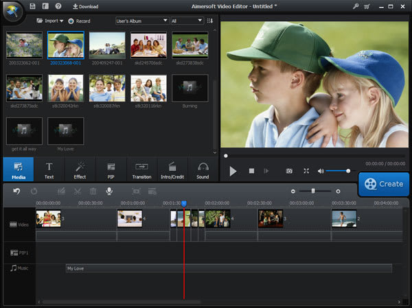 Aimersoft Video Editor