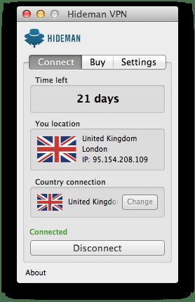 Hideman Mac OS