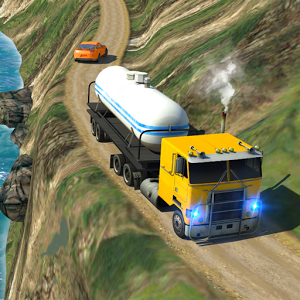 Oil Tanker Truck Simulator: Hill Climb Driving Varies with device