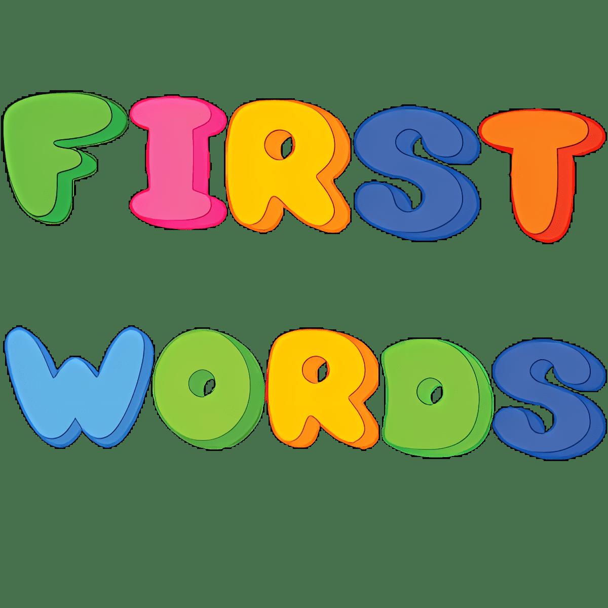 Las primeras palabras