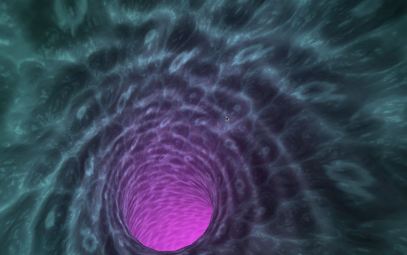 Plasma Tunnel Screensaver