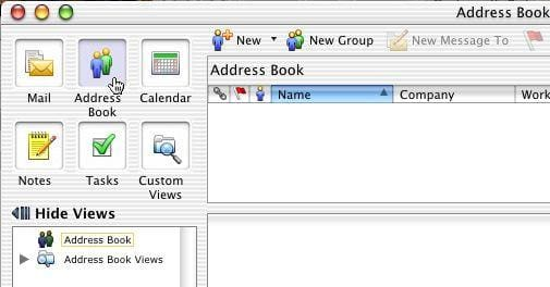 Sync Entourage-Address Book