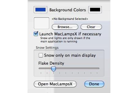 MacLampsX