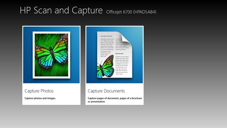 HP Scan and Capture voor Windows 10