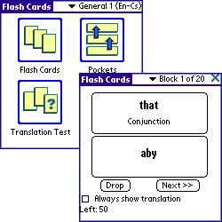 ECTACO FlashCards English - Czech