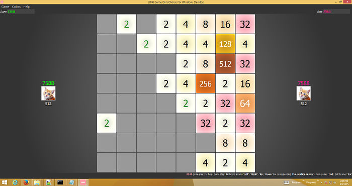 2048.exe Windows PC Desktop Game