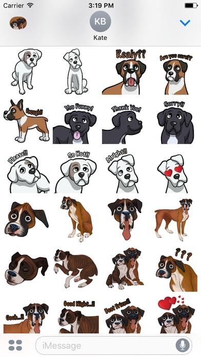 BoxerMoji - Boxer Emoji & Sticker