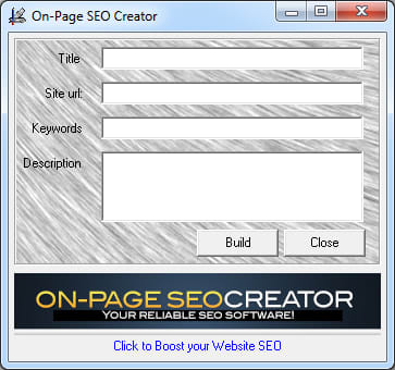 On-Page SEO Creator