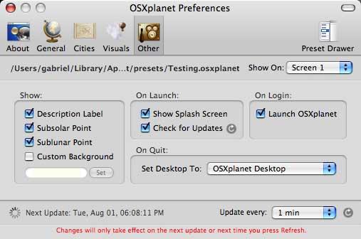 OSXplanet