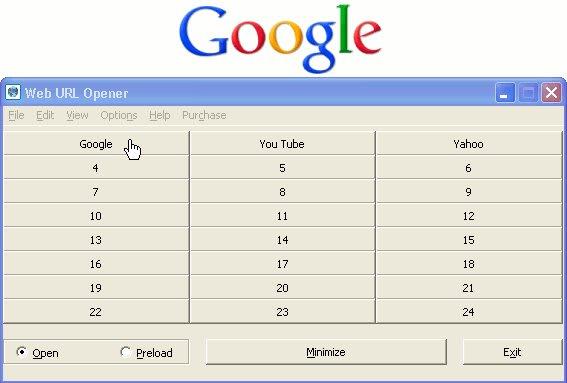 Web URL Opener