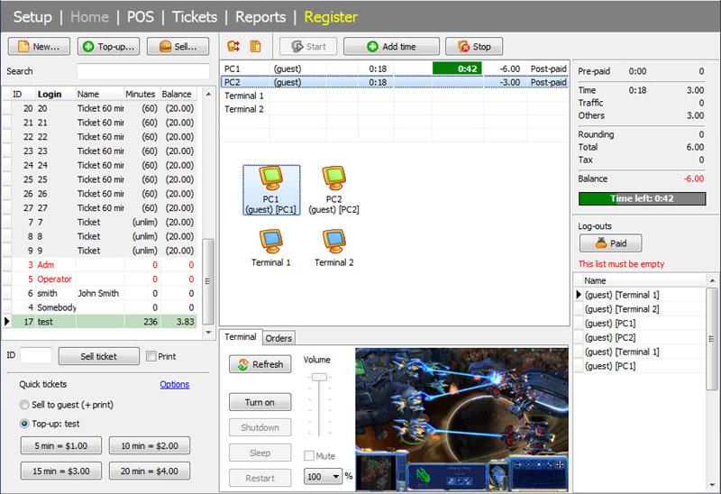 Internet Cafe Billing Software Download