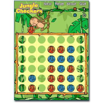 Jungle Checkers